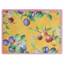 Country Life Placemat Orange In Polypropylene