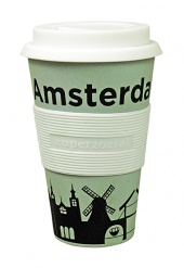 CRUISING TRAVEL MUG AMSTERDAM BL