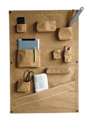 OTR WALL POCKETS Brown