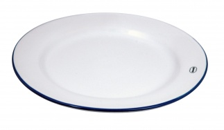 Cabanaz BREAKFAST PLATE WH