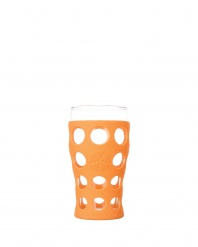 Lifefactory 20oz Beverage Glass - Open Stock - Orange