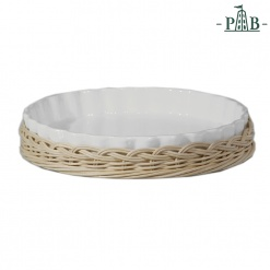 Wicker For Ribbed Fruit Plate Cm 32