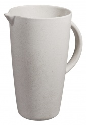 SMUG JUG pitcher Coconut white