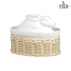Wicker For Cass. Rabbit/Duck Lid Cm16X11