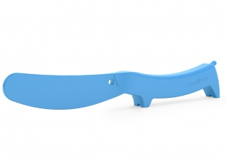 Wooof butter spreader - blue