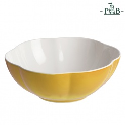 VILLADEIFIORI SALAD BOWL CM 23 YELLOW