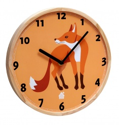 WALLCLOCK Fox