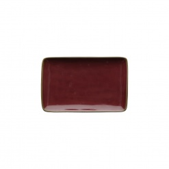 Dining, TablewareCONCERTO (Red) ROSSO MALAGA Rectangular Tray Ø 20 cm; W 13 cm£10.00