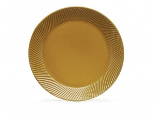 Coffee & More side plate, yellow