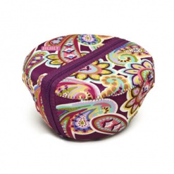 Bento Salad Bowl  posh paisley purple