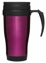 Car mug/thermal mug, pink