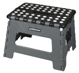 JAMES foldable stool Grey