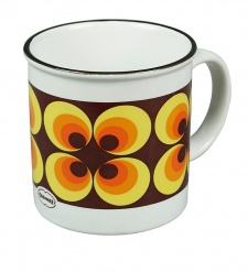 TEA/COFFEEMUG RAMONA Yellow