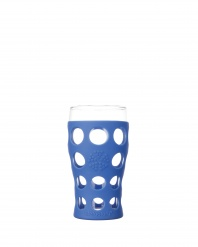 Lifefactory 20oz Beverage Glass - Open Stock - Cobalt