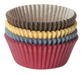 Coloured Paper Baking Cup, 6 Cm, 100 Pcs Delicia