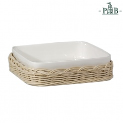 Wicker For Square Tray Cm 16,5X16,5