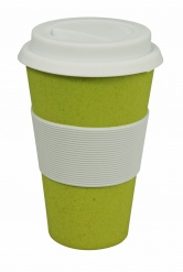 CRUISING TRAVEL MUG Lemony yellow