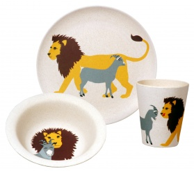 HUNGRY KIDS SET - LION set/3