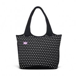 Everyday Shoulder Tote Mini Dot Black & White