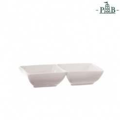 Terrine Rect. Tray 2 Parts Cm 14