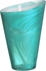 Candy vase turquoise