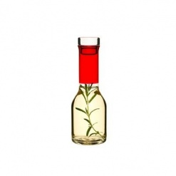 Club Schnapps Carafe With Cork- Red