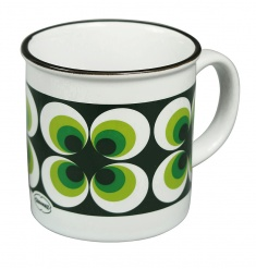 TEA/COFFEEMUG RAMONA Green