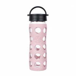 Lifefactory 16 oz Glass Bottle Core 2.0 - Desert Rose