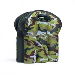 6 Pack Tote-Urban Camo Green
