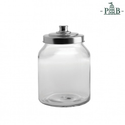 TUSCIA GLASS CONTAINER D16 H23 GB