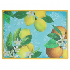 Country Life Placemat Light Blue In Polypropylene