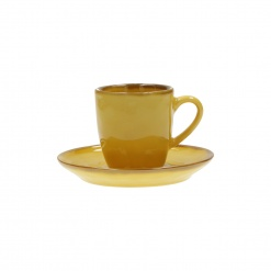 Dining, Tea and CoffeeCONCERTO (Yellow) OCRA Espresso Cup with saucer Cap. 90 cc£5.50