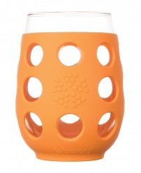 Lifefactory 11oz Wine Glass - Open Stock - Orange