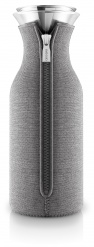 Fridge carafe 1,0 l, Grey woven
