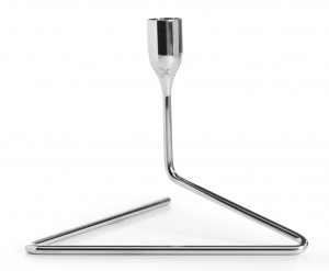 """Puzzle"" Candleholder Small Stainless Steel"