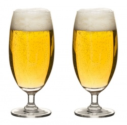 Club beer glasses 2-pack