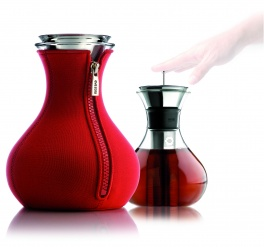 Tea maker 1.0 l red