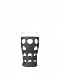 Lifefactory 20oz Beverage Glass - Open Stock - Carbon