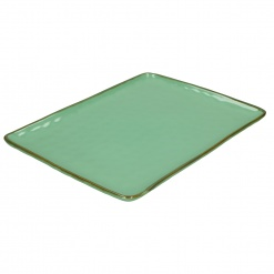 CONCERTO (Tiffany Green) VERDE ACQUA Rectangular Tray Ø 36 cm; W 26,5 cm