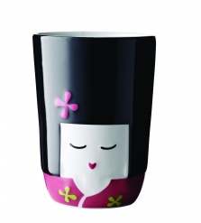 Kokeshi Thermal Cup - Pink