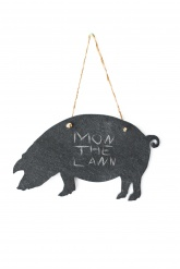Slate Wall Notes - Pig