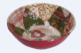 ALPINE LIFE Salad Bowl Ø 28 cm; H 9,5 cm in Gift Box