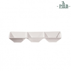Convivio Rect. Tray 3 Parts Cm 23X7,5