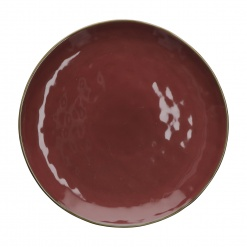 CONCERTO (Red) ROSSO MALAGA Round Platter Ø 32 cm