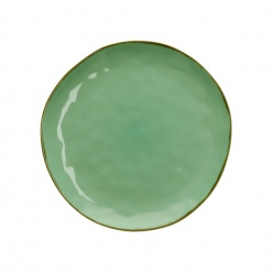 CONCERTO (Tiffany Green) VERDE ACQUA Dinner Plate Ø 27 cm