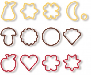 Traditional cookie cutters DEL