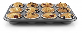 Muffin tray, 12 cups