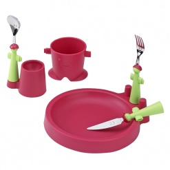 Puppet Club Set Fuschia