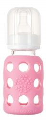 Lifefactory 4oz Baby Bottle - Pink
