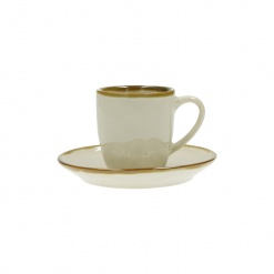 Dining, Tea and CoffeeCONCERTO (Ivory) AVORIO Espresso Cup with saucer Cap. 90 cc£5.50